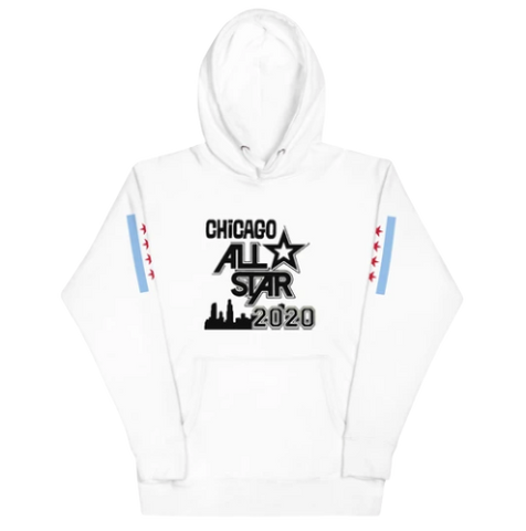 ALL-STAR CHICAGO 2020 Black Logo Hoodie