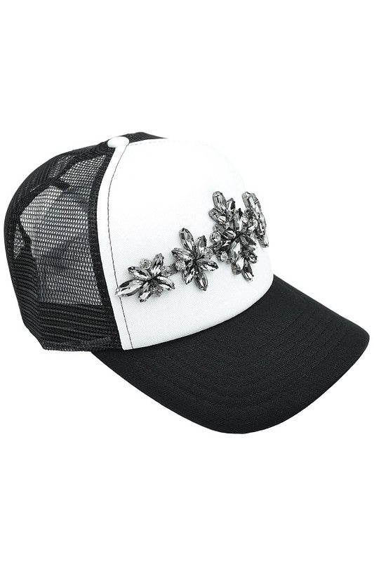 Blinged Out Jeweled Trucker Hats