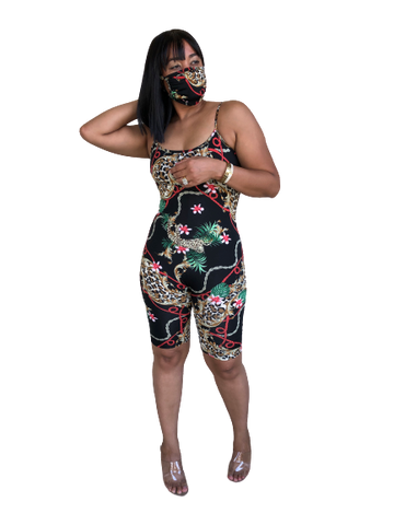 Jungle Romper Set