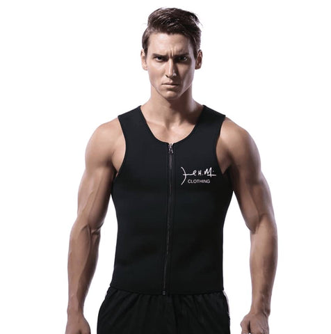 JHM Men's Workout Body Slimming Vest