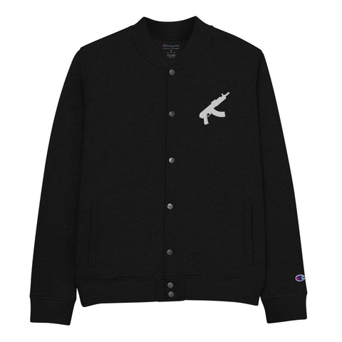 DRAKO Embroidered Bomber Jacket