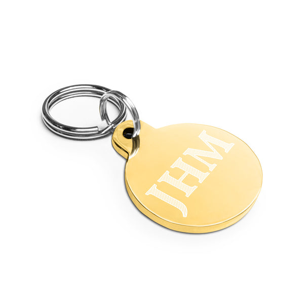 Engraved JHM Tag