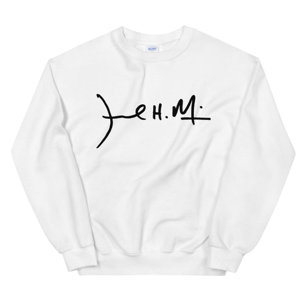 Signature Sweater ( Black Logo )