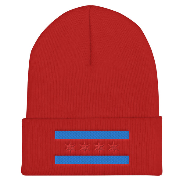 CHICAGO Flag Skully