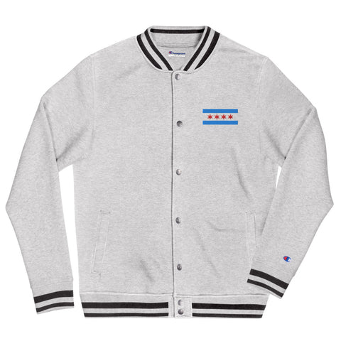 CHICAGO Flag Bomber Jacket