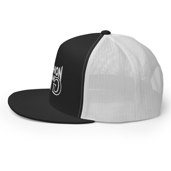 Fashion Gang Trucker Cap ( White Letters )