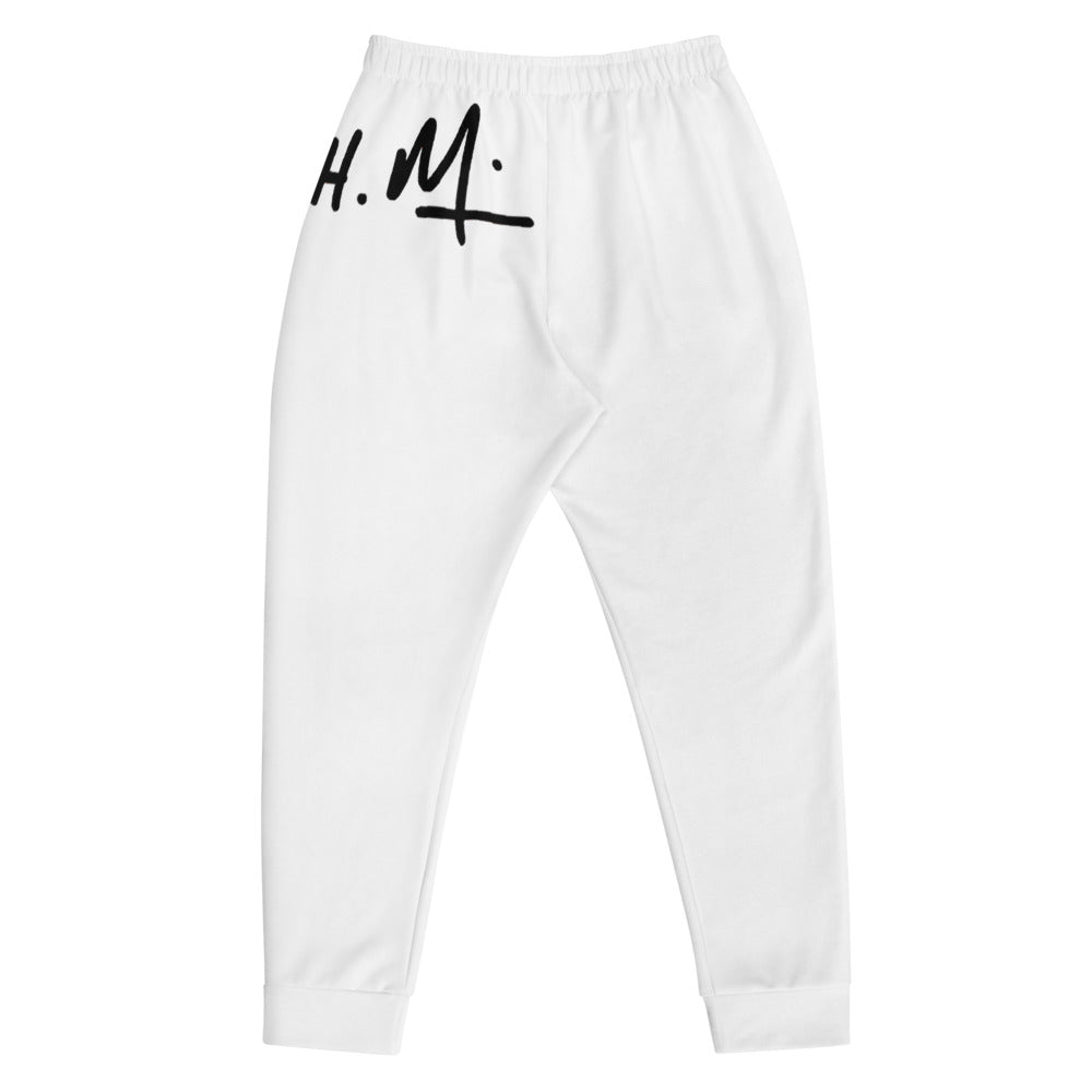 Men's Signature Track Pants ( White )