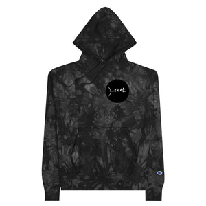 JHM Dot Champion Tie-Dye Hoodie ( Black Dot )