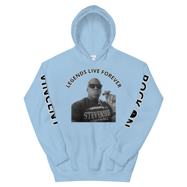 RV - Rock On Legends Live Forever - Unisex Hoodie