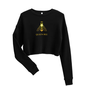 Queen Bee Crop Sweatshirt