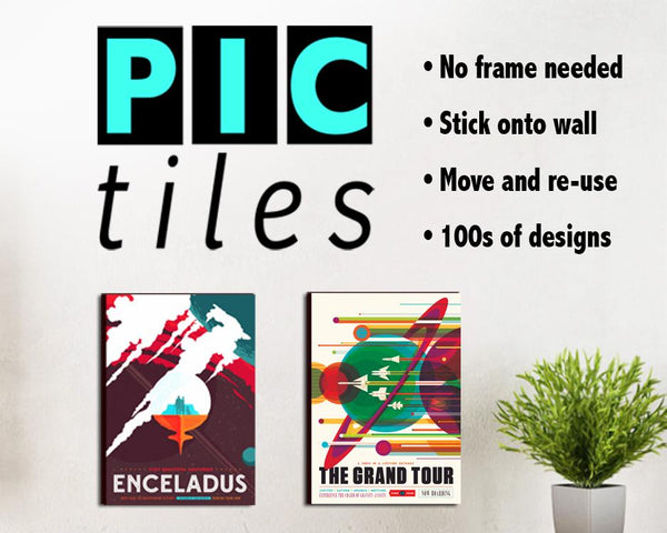 PICTILES: Upgrade papieren prints op PVC-tegels - Print Arcade USA