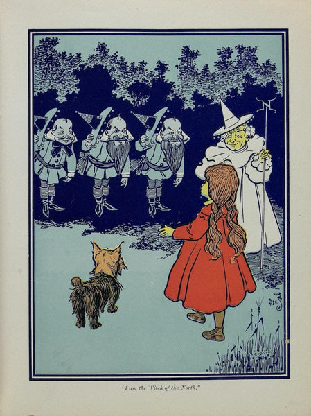 WIZARD OF OZ Drucke: Vintage Denslow Buch Kunst Illustrationen