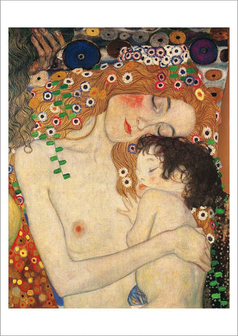 GUSTAV KLIMT: Mother and Baby (Detail), Fine Art Print - The Print Arcade