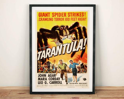 TARANTULA POSTER: Spider B-Movie Poster Print