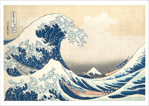 KATSUSHIKA HOKUSAI: The Great Wave off Kanagawa, Fine Art Print - The Print Arcade