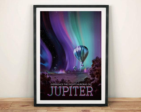 JUPITER POSTER: NASA Space Art Print - The Print Arcade