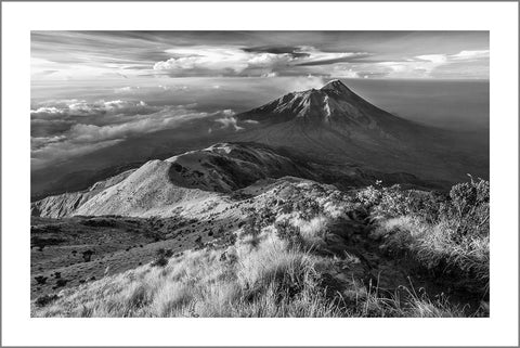 MOUNTAIN VIEW: Black and White Photography Print