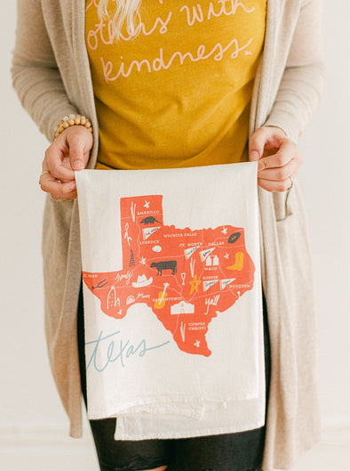 Texas Flour Sack Towel