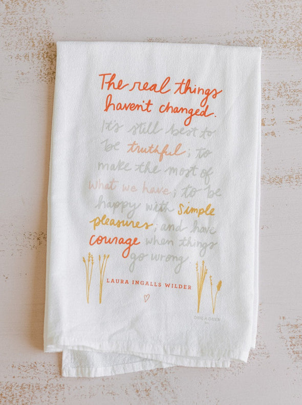 The Real Things Flour Sack Towel