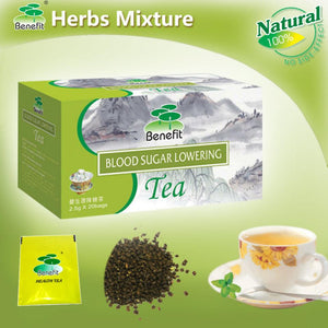 Benefit Blood Sugar Lowering Tea