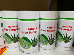 Natural Aloe 90 Soft gel