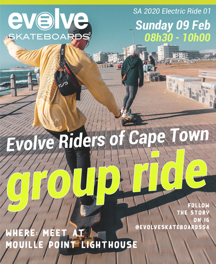 Evolve Riders of Cape Town - Group Ride February 9th