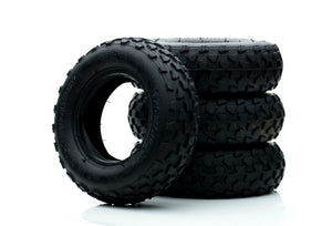 "Off Road Tyres 7"" in Black or Blue"