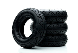 "All Terrain Tyres 175mm / 7"" - Black or Blue"