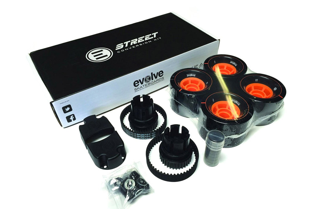 Street Kit – 107mm with 38T Gears and Belts