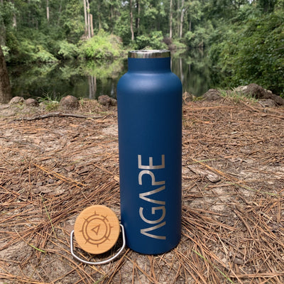 Agape Love Bottle (Navy)