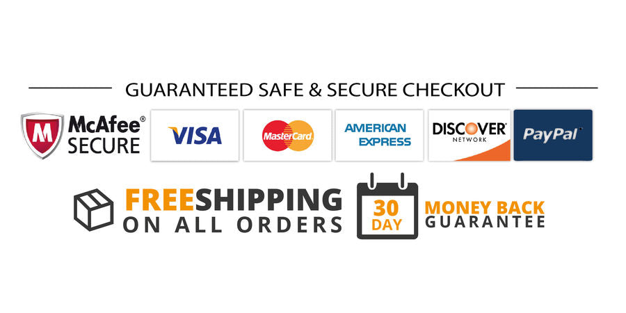 secure checkout safe checkout free shipping