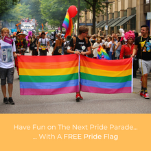 Load image into Gallery viewer, Pride Flag - FREE Today