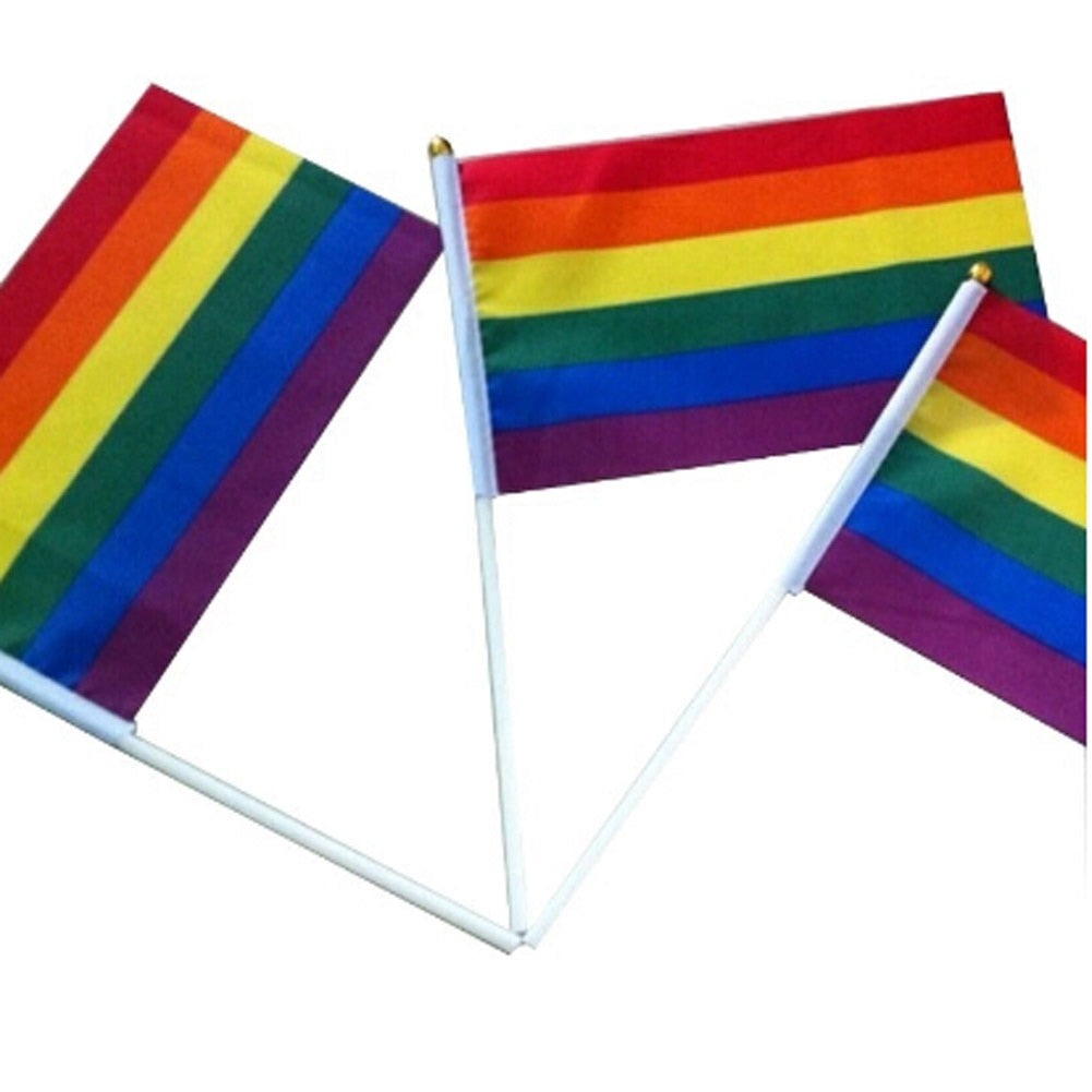 Handheld Pride Flag (1pc)