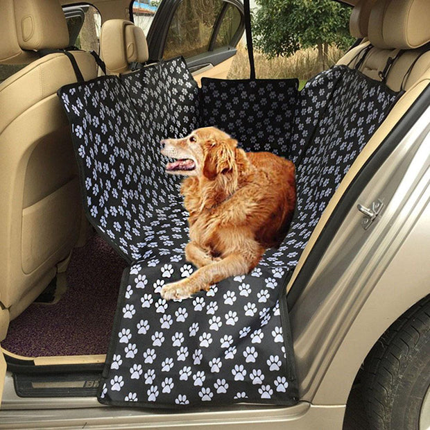 DOG CAR SEAT COVER WATERPROOF & HAMMOCK CONVERTIBLE