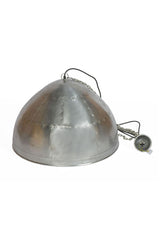 P51 Medium - Zinc - Iron Riveted Dome Pendant Light