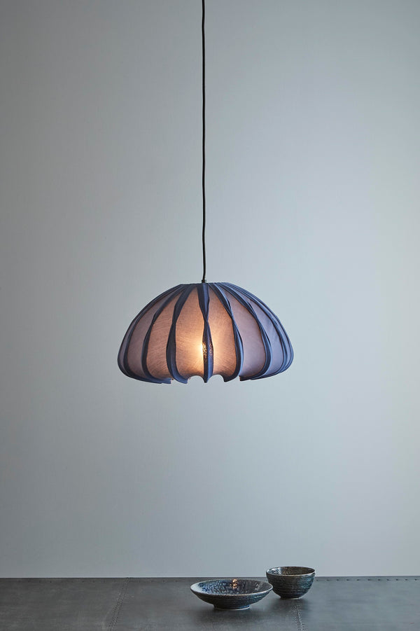 Anemone - Blue - Cotton Lantern Pendant Light