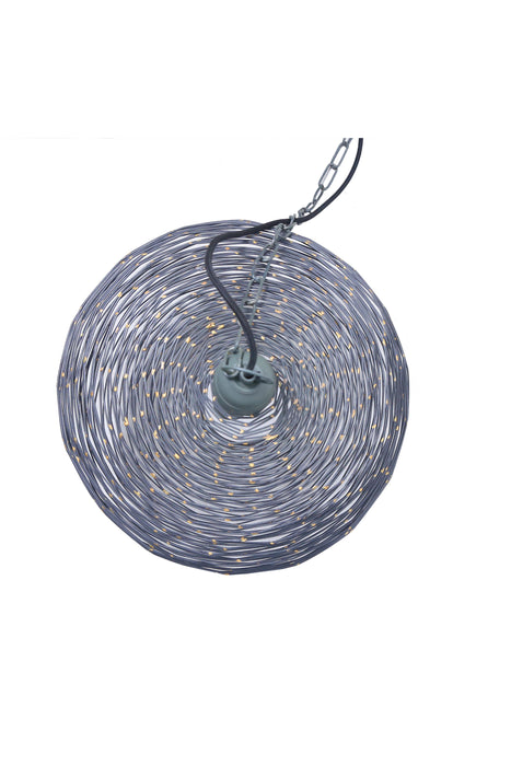Celestial Small - Zinc - Wire Weave Ball Pendant Light