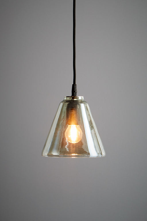 Cono - Pale Green - Glass Cone Pendant Light