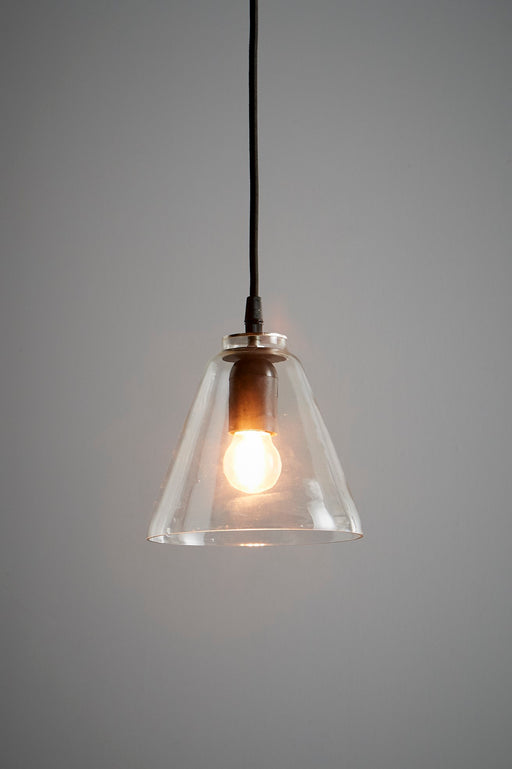 Cono - Clear - Glass Cone Pendant Light