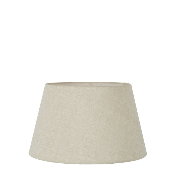 XS Taper Lamp Shade (10x6.5x7 H) - Light Natural Linen - Linen Lamp Shade with E27 Fixture