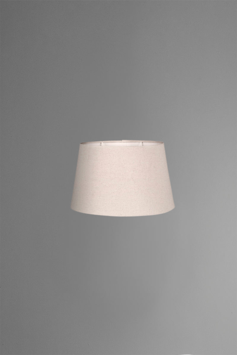 Medium Oval Lamp Shade (14x9 x 11x6 x9 H