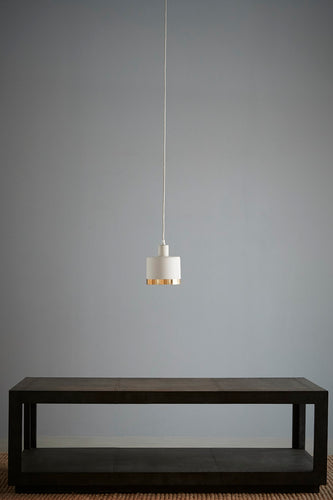 Montreux Small - White/Gold - 2 Tone Drum Pendant Light