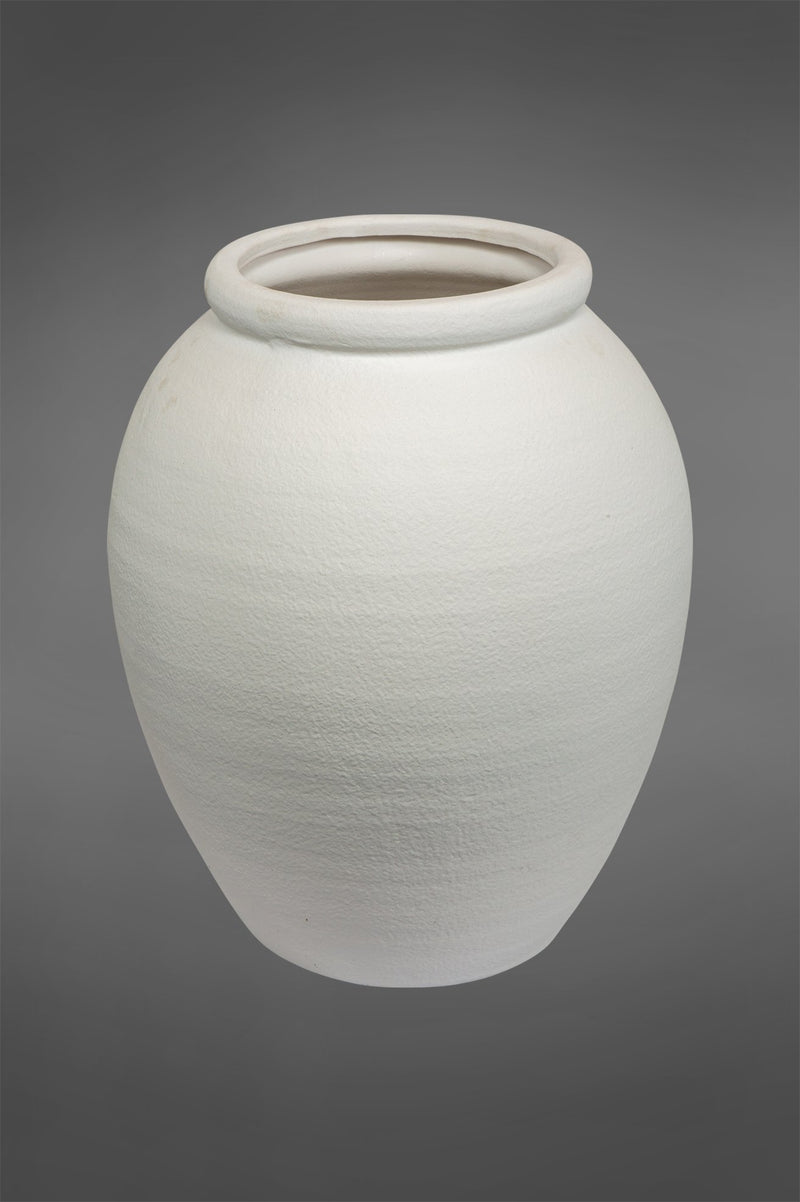 Arc Large - White - 50cm Tall Ceramic Urn Planter