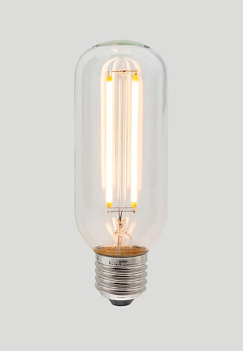 T45 Long LED Filament - Clear Glass - 4W E27 2200k