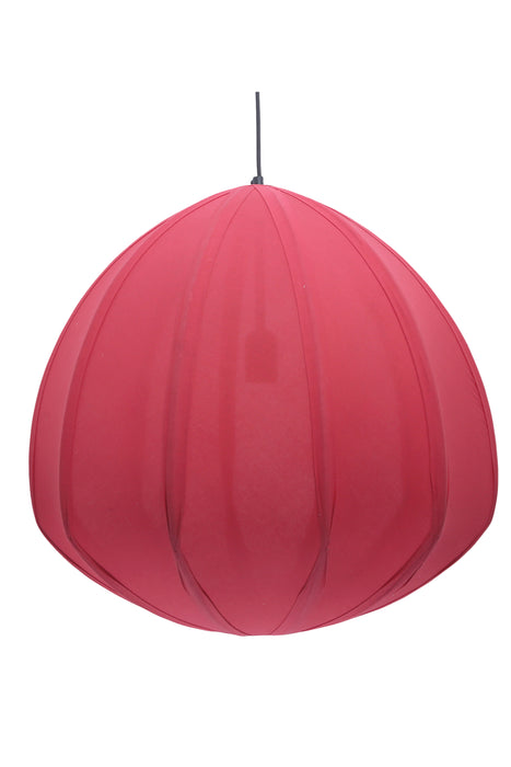 Urchin - Deep Red - Cotton Lantern Pendant Light