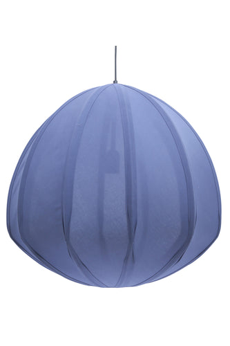 Urchin Large - Blue - Cotton Lantern Pendant Light