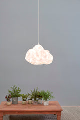 Cumulus - White - Free Form Cloud Paper Pendant Light