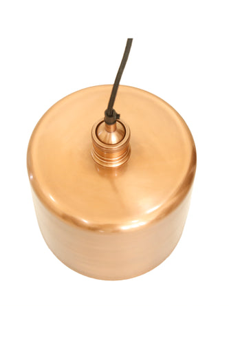 Zurich 2 Medium - Antique Copper - Drum Pendant Light