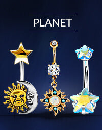 Planet Belly Rings