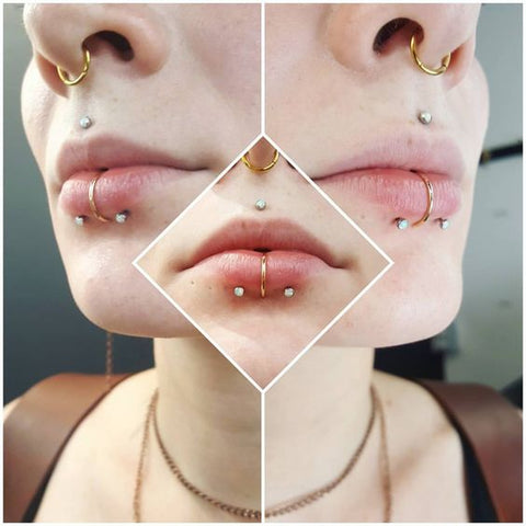 body jewelry lip piercing larbet piercing lip studs lip rings body piercings